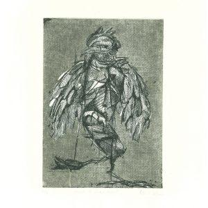 Bevan de Wet – Study 17 (Bird Man)